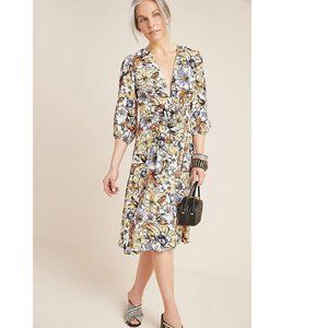Anthropologie Faithfull Chloe Midi Dress Small
